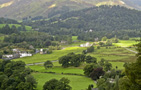 Patterdale from trail up Angle Tarn Pike - by Tom